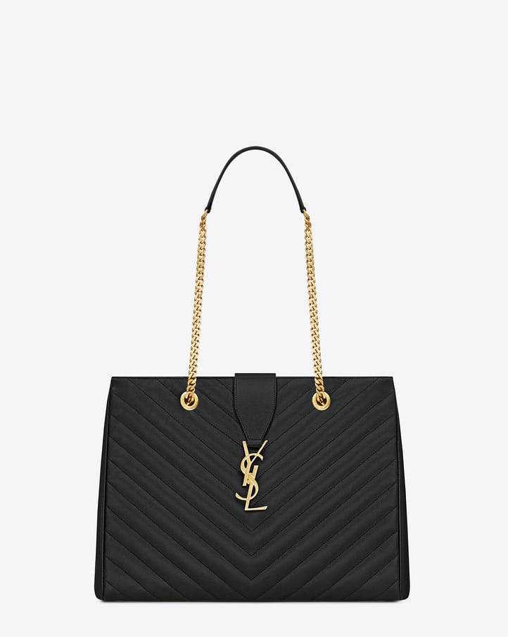 Saint Laurent Classic Monogramme Shopping Tote Bag Reference Guide ...