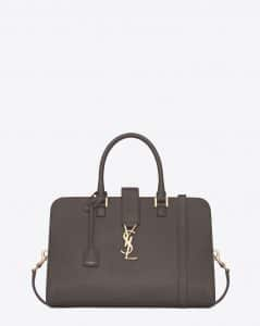 Saint Laurent Earth Monogramme Cabas Medium Bag