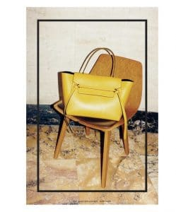 Celine Belt Tote Bag - Fall 2014 Ad Campaign