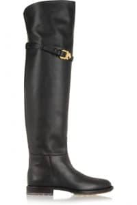 Valentino Over the Knee Animalia Boot