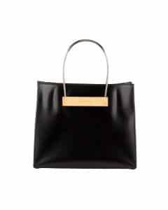 Balenciaga Black Cable Strap Shopper Small Bag