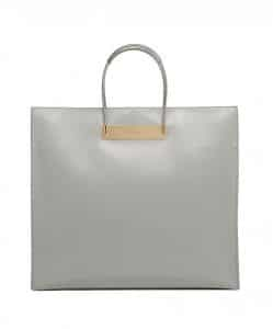 Balenciaga Gray Cable Strap Shopper Meidum Bag