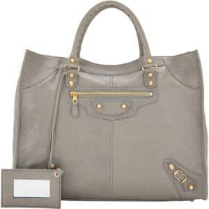 Balenciaga Grey Giant Monday Bag