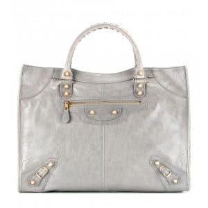 Balenciaga Gris Pyrite Giant Monday Bag