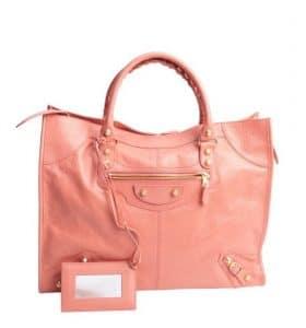 Balenciaga Rose Giant Monday Bag