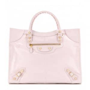 Balenciaga Rose Poudre Giant Monday Bag