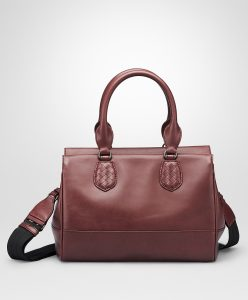Bottega Veneta Aubergine New Calf Ducale Bag