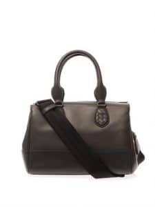 Bottega Veneta Charcoal Grey New Calf Ducale Bag