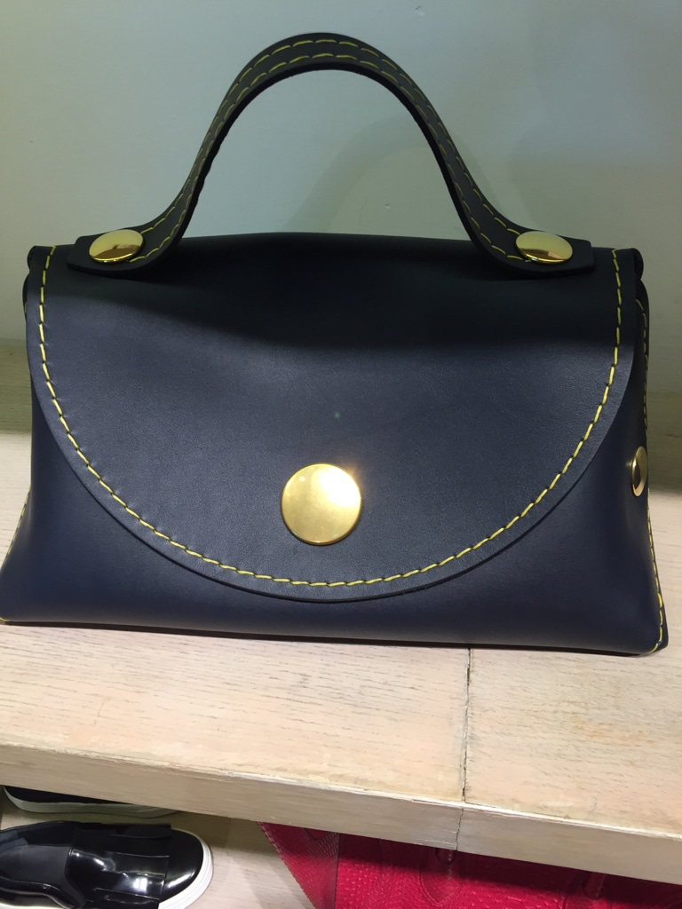 955a82b320 celine fabric and leather clutch