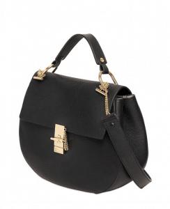 Chloe Black Drew Large Shoulder Bag