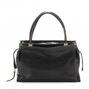 Chloe Black Pebbled Leather Dree Bag