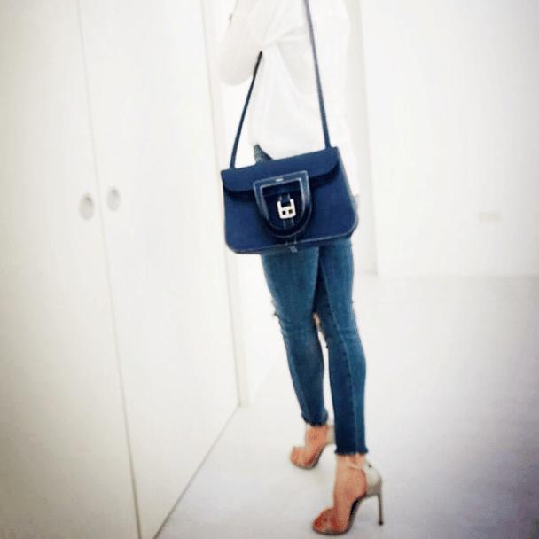 Hermes Halzan Shoulder Bag Reference Guide Spotted Fashion