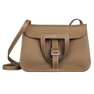 Hermes Gold Halzan Bag (Folded)
