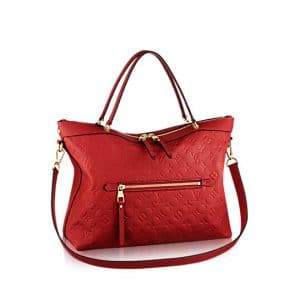 Louis Vuitton Cerise Monogram Empreinte Bastille MM Bag