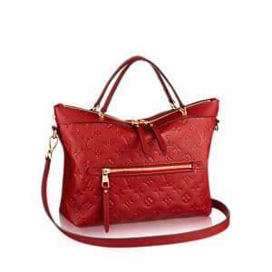 Louis Vuitton Cerise Monogram Empreinte Bastille PM Bag