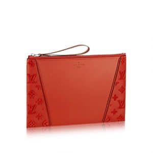 Louis Vuitton Paprika with Tufted Sides W Pochette Bag