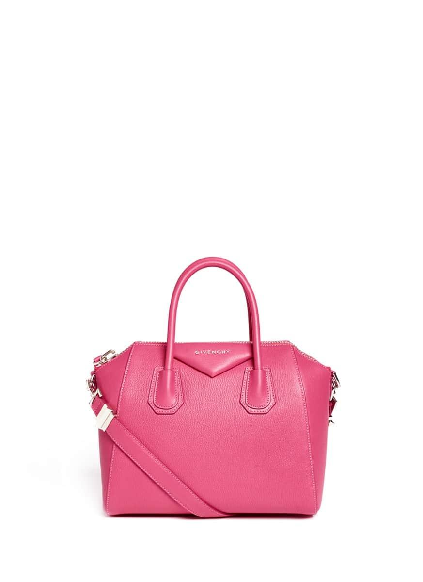 Modeled the Givenchy Antigona Small Bag Versus Antigona Mini Bag ... 4bd8479fcd0c3