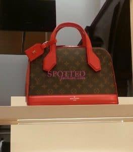 Louis Vuitton Red Monogram Dora Tote Bag - Fall 2014