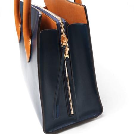 celine black tote bag with gusset
