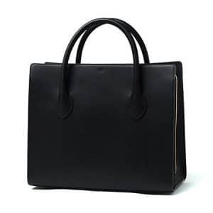 Celine Black Boxy Tote Bag - Fall 2014