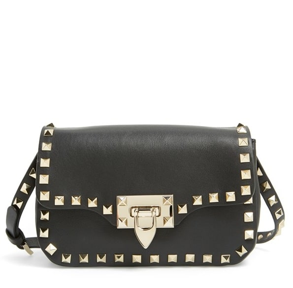 bff85b84a Valentino Rockstud Crossbody Bag Outfit | Stanford Center for ...
