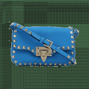 Valentino Blue Rockstud Crossbody Bag