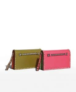 Valentino Colorblock Rockstud Clutch - Fall 2014