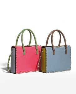 Valentino Rockstud Satchel Bag - Fall 2014