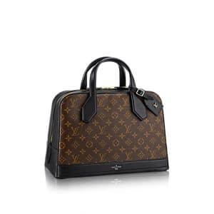 Louis Vuitton Dora Monogram Canvas MM Bag