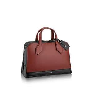Louis Vuitton Dora Burgundy MM Bag