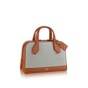 Louis Vuitton Grey Textile Dora PM Bag