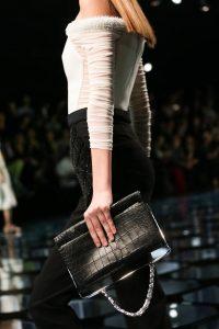 Balenciaga Black Crocodile Bag - Spring 2015