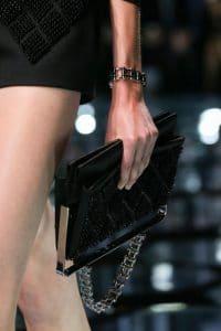 Balenciaga Black Embellished Bag - Spring 2015
