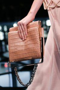 Balenciaga Pink Crocodile Bag - Spring 2015