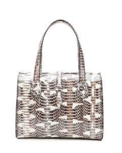 Bottega Veneta Mist Mangrovia Belted Tote Bag - Fall 2014