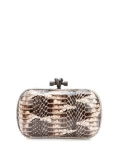 Bottega Veneta Mist Mangrovia Knot Clutch Bag - Fall 2014