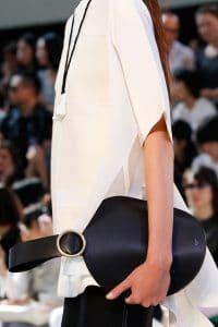 Celine Black Bell Shape Clutch Bag 4 - Spring 2015