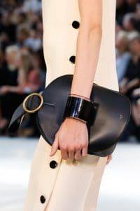 Celine Black Bell Shape Clutch Bag 5 - Spring 2015