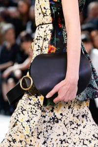 Celine Black Bell Shape Clutch Bag - Spring 2015