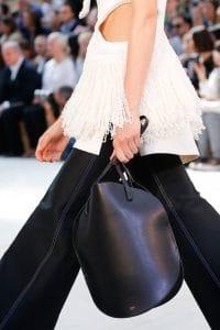 Celine Black Bell Shape Tote Bag 2 - Spring 2015