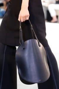 Celine Black Bell Shape Tote Bag - Spring 2015