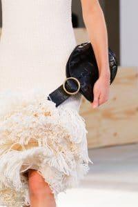 Celine Black Crocodile Bell Shape Clutch Bag 3 - Spring 2015