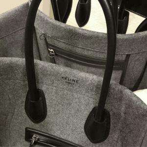 Celine Grey Felt Phantom Bag 2 - Fall 2014