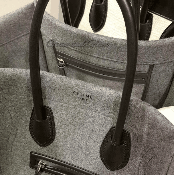 celine cloth handbag