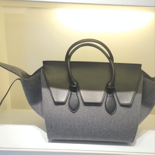 celine totes - Celine Felt Bags for Fall 2014 available in Mini Luggage, Phantom ...