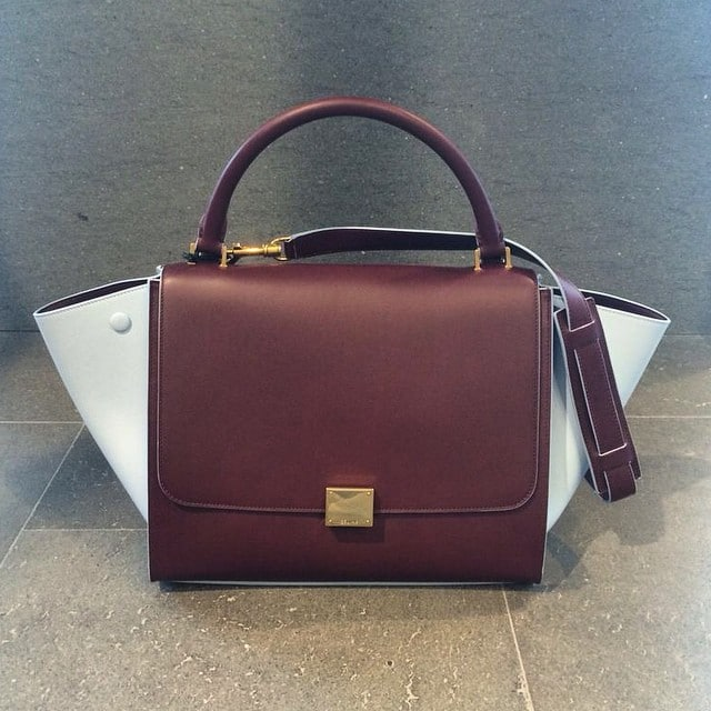 fake handbags in singapore - Celine Bags with Colored Trim for Fall / Winter 2014 | Spotted Fashion