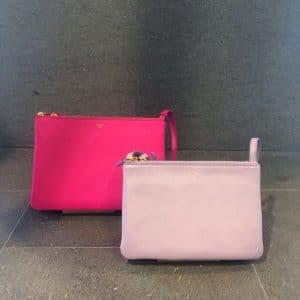 Celine Pink Trio Messenger Bags - Fall Winter 2014