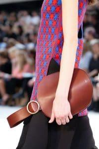 Celine Red Bell Shape Clutch Bag 2 - Spring 2015