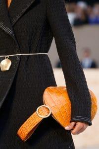 Celine Tan Crocodile Bell Shape Clutch Bag 2 - Spring 2015