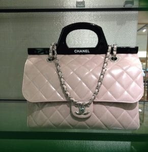 Chanel Pink CC Delivery Small Shopping Tote Bag